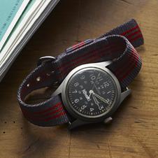 30年以上愛用している、ハミルトンの腕時計