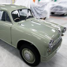 【トヨタ博物館】(29)高度経済成長期の大衆車たち