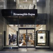 「エルメネジルド ゼニア」のグローバルストアが銀座にオープン