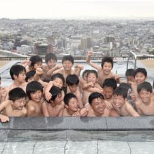 スギちゃんも太鼓判 大阪平野を一望する露天風呂がオープン
