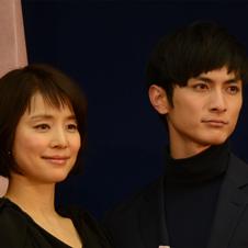 高良健吾&石田ゆり子「ラブシーンはパッション」 映画「悼む人」完成披露