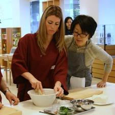 貝印が外国人向け和食体験教室