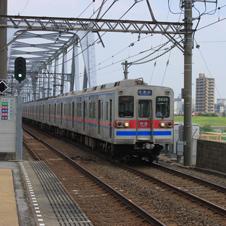 江戸川駅 東京と千葉を結ぶ鉄橋を望む牧歌的景勝地