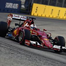 F1第13戦シンガポールGP速報、ベッテルが今季3勝目