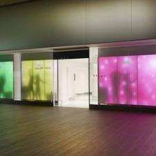 アートギャラリーのような空間で日本のトイレ文化を体感