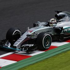 F1第14戦日本GP速報、ハミルトン予選2位から今季8勝目