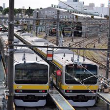 三鷹駅 「電車庫通り」を歩いて太宰治の散歩道だった跨線橋へ
