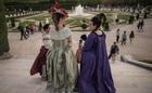 夏の夜の夢 ベルサイユ宮殿で舞踏会