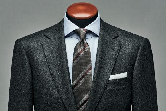10月1日、衣替え。新調するなら、グレーのフランネルスーツ