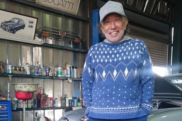 マハラジャ世代に懐かしのスキー・セーター