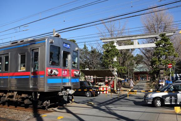 鳥居と鉄道 関東・関西14スポット