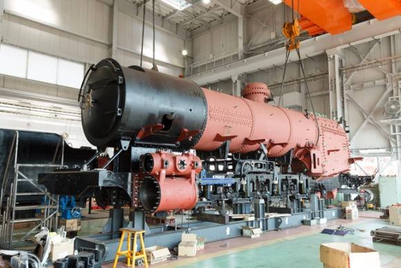 蒸気機関車「D51-200」復活へ(3)