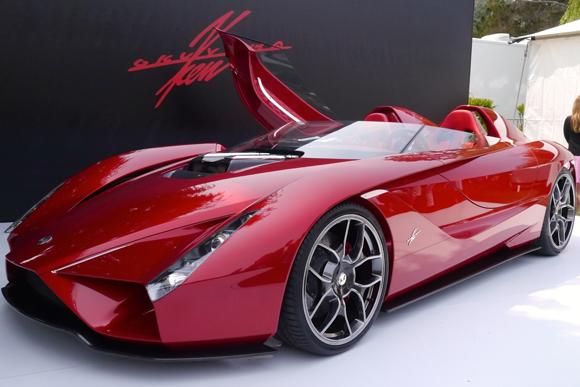 アメリカの富裕層向けに開催されたスポーツカーの祭典