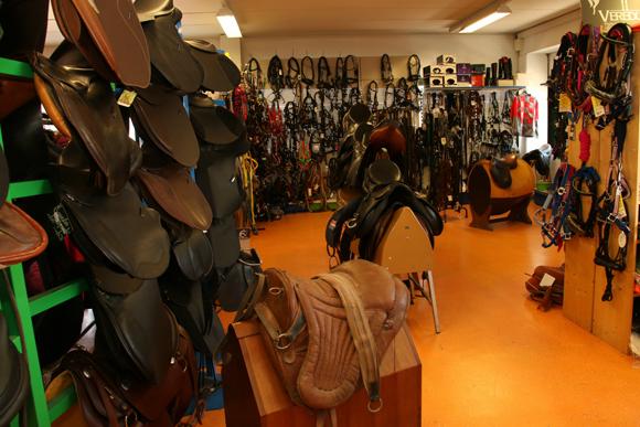 イタリアの商店<第26回>馬の通訳が営むシエナの「馬具店」