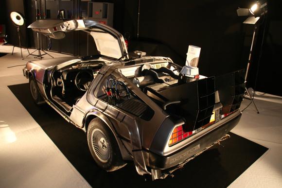 特別展「自動車と映画」に集められた49台