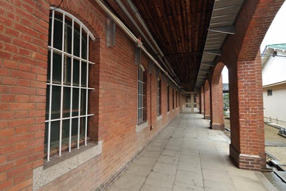 明治の名煉瓦建築 奈良少年刑務所の内部