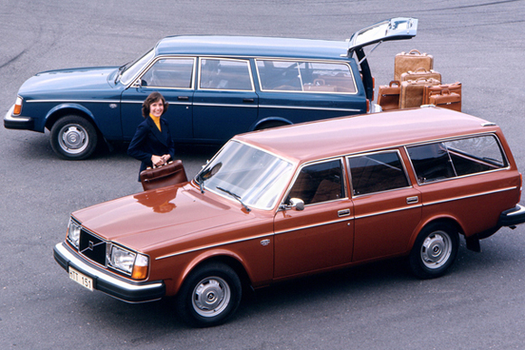 世界の名車<第101回>用の美があった「ボルボ240エステート」