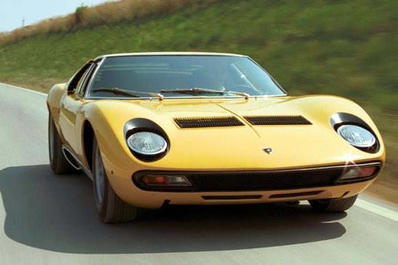 世界の名車<第103回>美と性能と情熱の「ランボルギーニ・ミウラ」