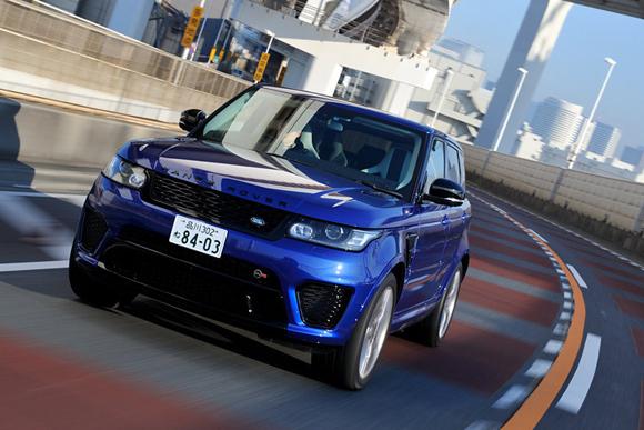 高性能SUV「レンジローバー スポーツSVR」に試乗
