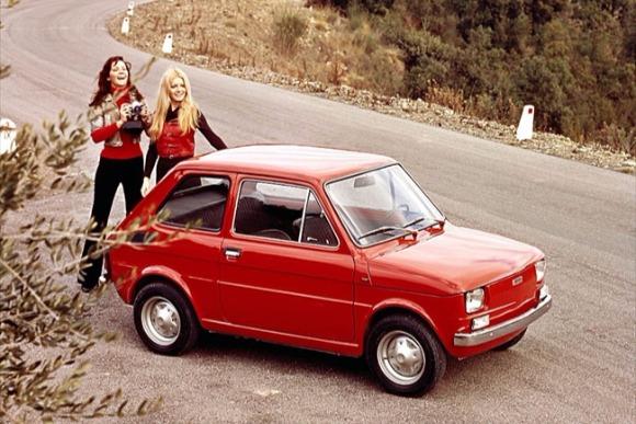 世界の名車<第115回>イタリアの可愛いミニ「フィアット126」