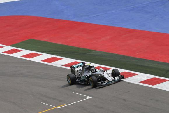 F1第4戦ロシアGP速報、ロズベルグ4連勝