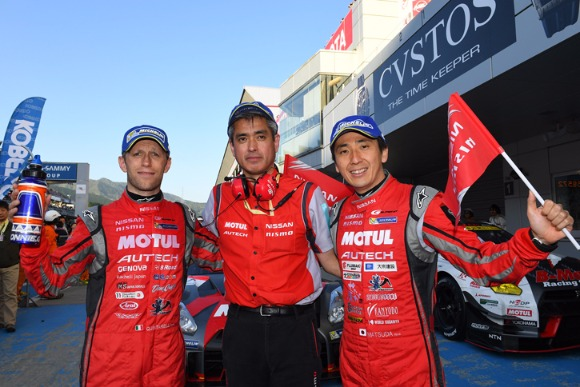 SUPER GT 第2戦富士でMOTUL AUTECH GT-Rが勝利