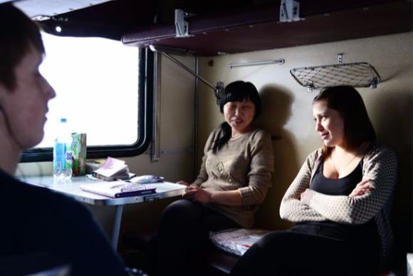 ナウシキからクラスノヤルスクへーユーラシア大陸縦断、列車旅18