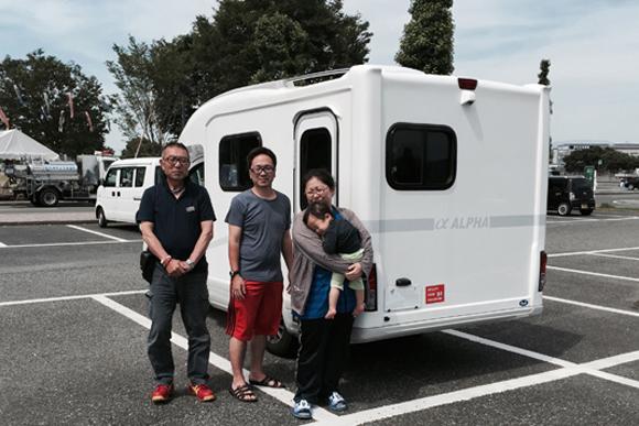 熊本でのボランティアとキャンピングカー(1)