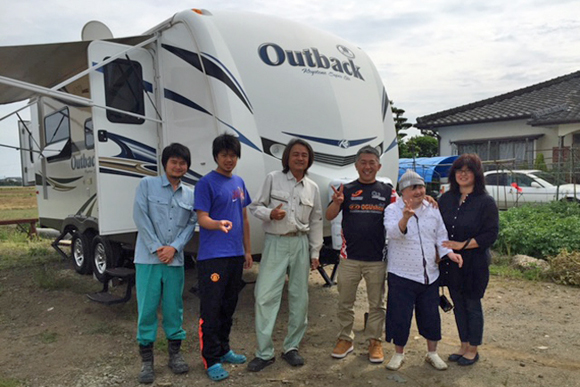 熊本でのボランティアとキャンピングカー(2)