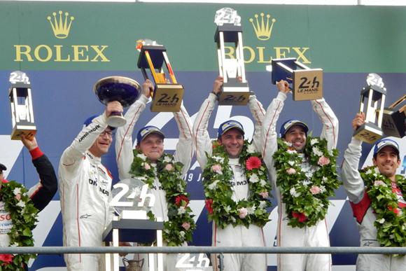 ルマン24時間でポルシェが2連覇達成