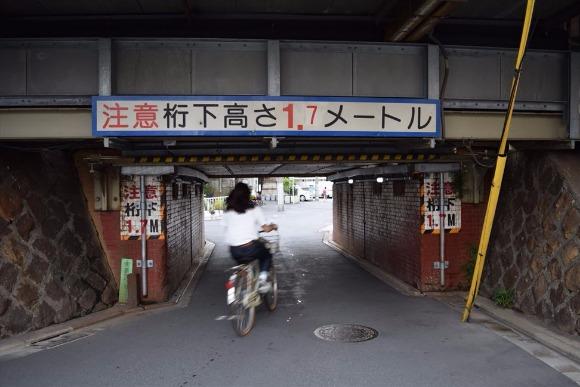 関屋駅・牛田駅 双子のような2駅近くのガードはどれも個性的
