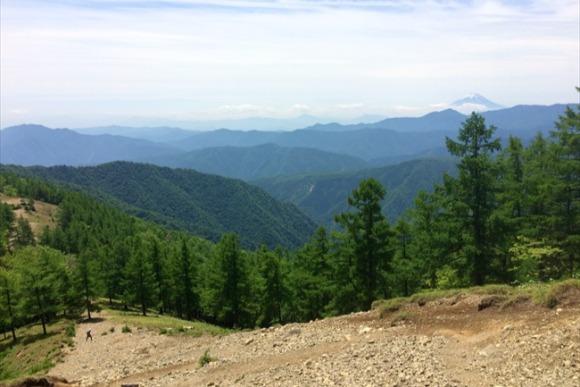 宮地藤雄さんがおすすめする都内最高峰の山道