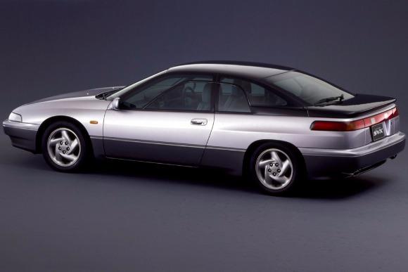 世界の名車・凝りに凝った高級クーペ「アルシオーネSVX」