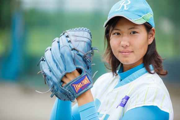 投打で活躍する「女大谷」になります! 野球・古谷恵菜さん