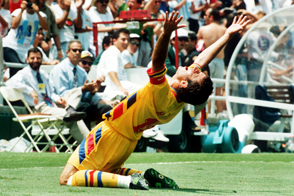 94年W杯の活躍は語り草、ルーマニア代表『ゲオルゲ・ハジ』