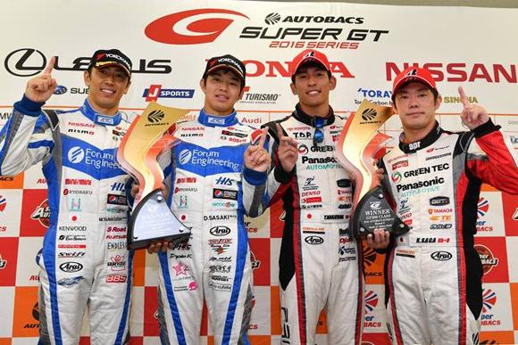 フォーラムエンジニアリング ADVAN GT-Rが見事な逆転優勝