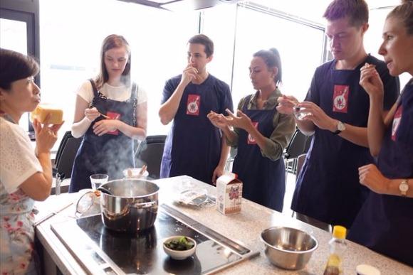 築地の端っこにある、外国人に人気の料理教室