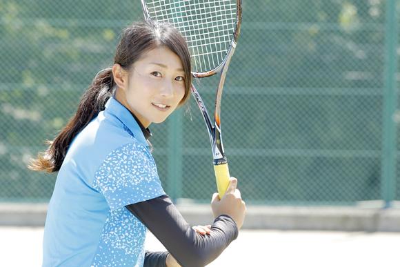 多彩な球を打ち分ける楽しさ ソフトテニス・平久保安純さん