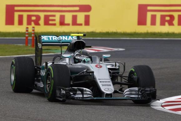 F1第17戦日本GP速報、ロズベルグ完勝、メルセデス3連覇達成
