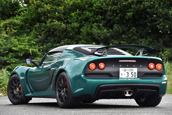英国スポーツカーだけの特権「エキシージ スポーツ350」