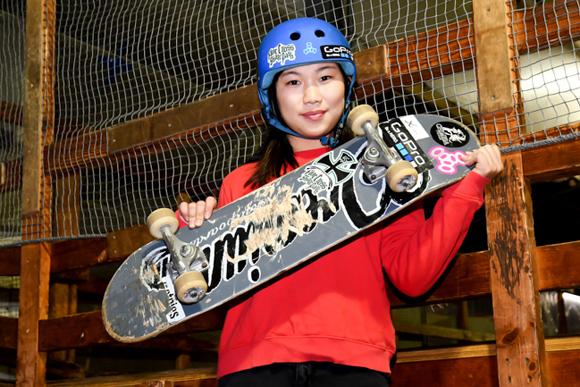 世界一のプロスケーターは16歳の女子高生 スケートボード・中村貴咲さん