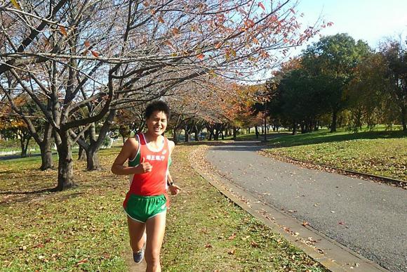 M高史推薦コース あの最強市民ランナーが走り続けた公園