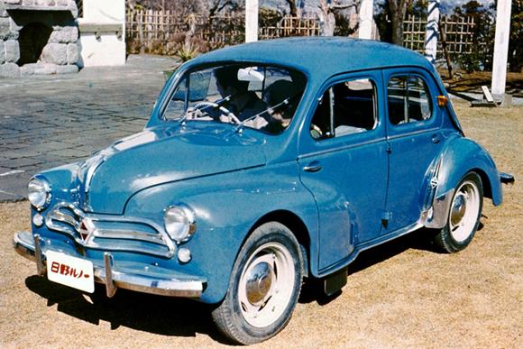 世界の名車・外車でありながら国産車「日野ルノー」