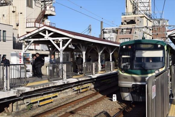 洗足池駅 昭和レトロ風情の駅近くにある超ミニマムなガード