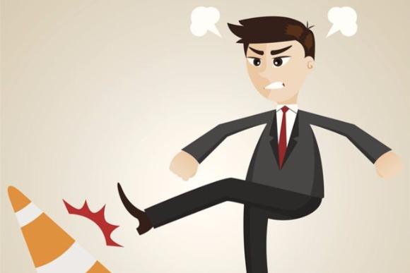 怒りの矛先はコントロールできない