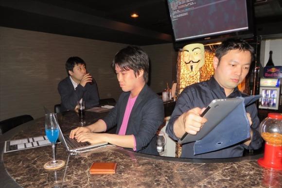 ハッカーがおもてなし 客と店員の「ライブセッション」