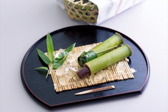 竹筒で食べる特別感、京都祇園の水ようかん 中村国生さん