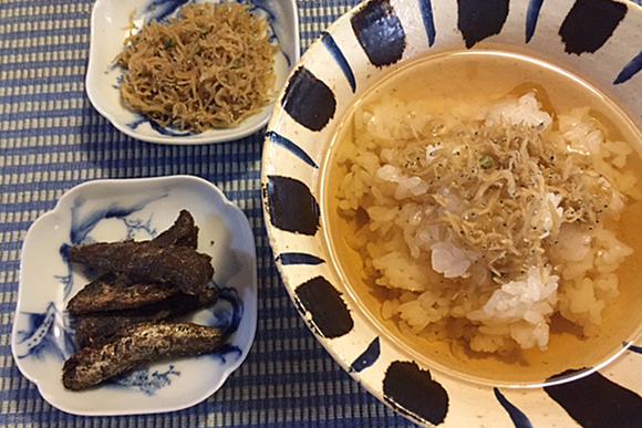 京都・ぎをん「浜作」のちりめん山椒とイワシの印籠煮