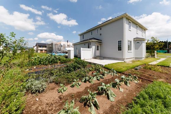 都内も通勤圏! 菜園付き200坪の土地に住む暮らし