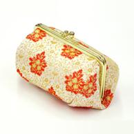 龍村美術織物 がま口コスメポーチ